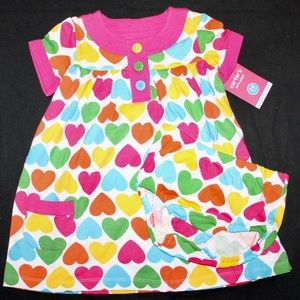 Carter's 24 Month Cotton Heart Patterned Dress